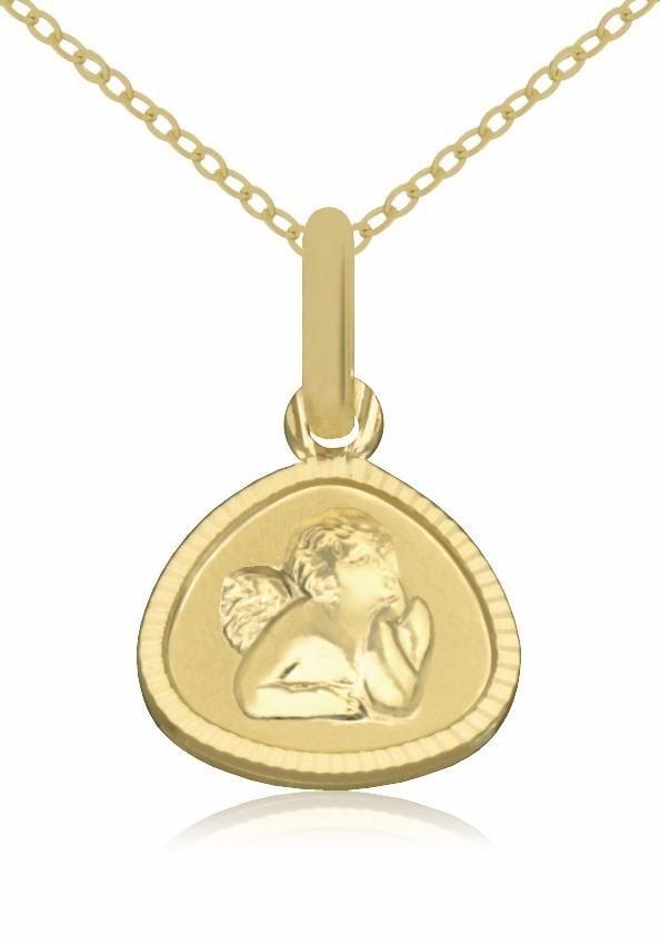 Firetti Goldkette »Schutzengel« in Gelbgold 333