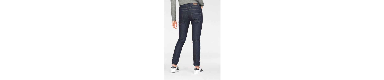 Please Jeans Boyfriend-Jeans P78A, mit Herz-Logo aus Metal