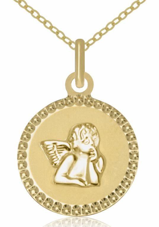 Firetti Goldkette »Schutzengel«