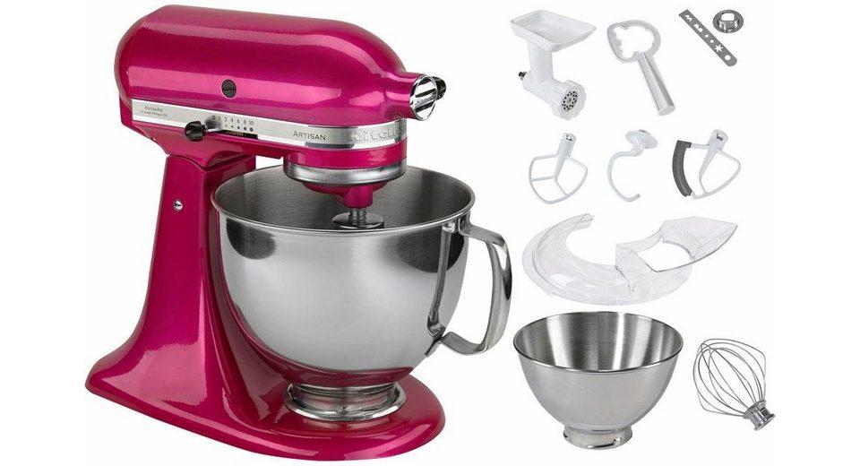 KitchenAid® Küchenmaschine 5KSM175PSERI Artisan, inkl Sonderzubehör im Wert von ca. 214,-€
