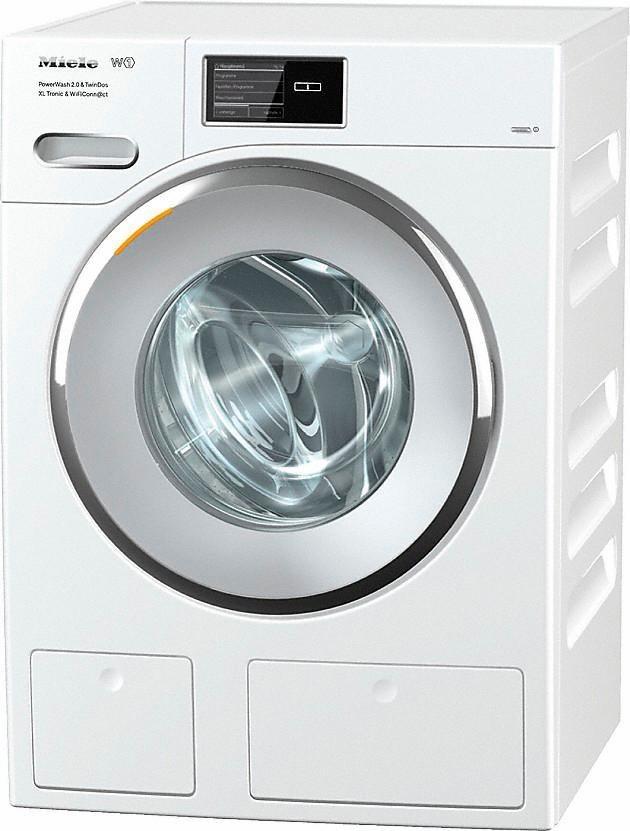 MIELE Waschmaschine WMV963WPS D LW PWash&TDosXLT WiFiConn@ct, A+++, 9 kg, 1600 U/Min in weiß