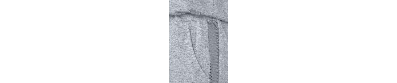 Buffalo Kurzer Jumpsuit im sportiven Design mit Mesheinsatz Freies Verschiffen Heißen Verkauf KkcuXv2h