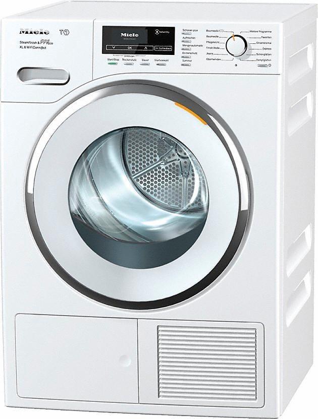 MIELE Trockner TMR843 WP SFinish&Eco XL Wifi, A+++, 9 kg in weiß