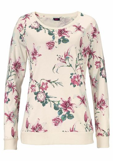 Buffalo Pajama Floral Print In Sizes L-