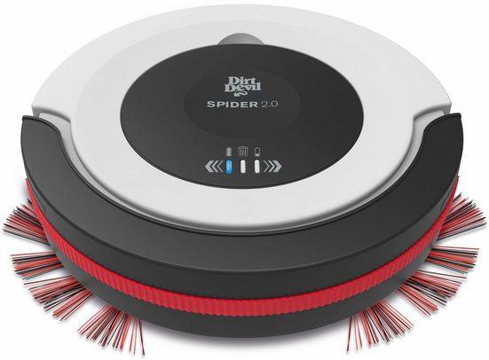 DIRT DEVIL Saugroboter Spider 2.0 - M612, beutellos, mit 3-Stufen Reinigungsprogramm