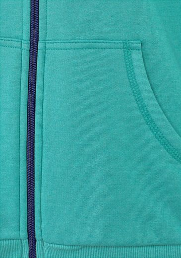 Bench. Kapuzenjacke mit kontrastfarbenen Details