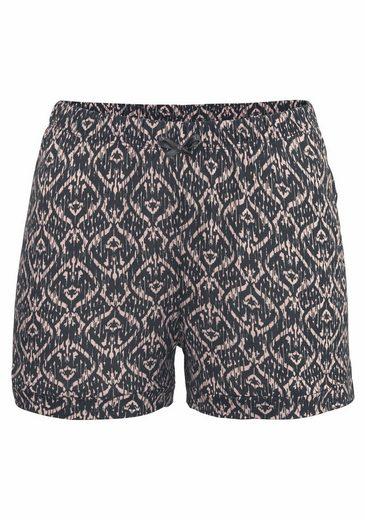 s.Oliver RED LABEL Bodywear Shorty mit gemusterten Shorts