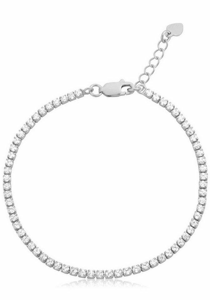 Firetti Silberarmband mit Zirkonia in Silber 925