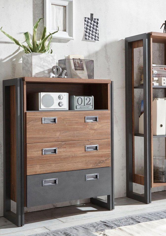 home affaire sideboard detroit breite 75 cm otto. Black Bedroom Furniture Sets. Home Design Ideas