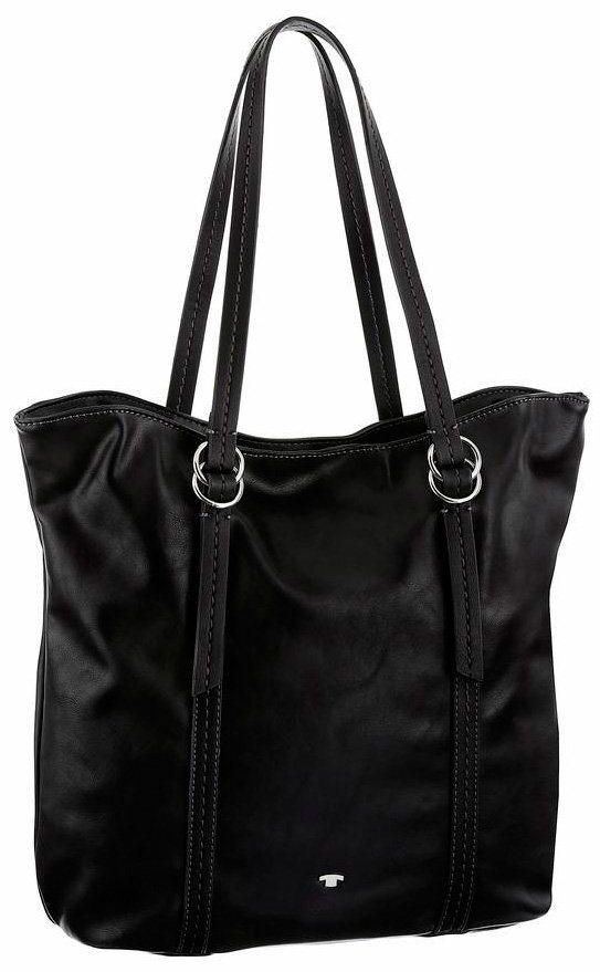 Tom Tailor Shopper »MIA« in schwarz