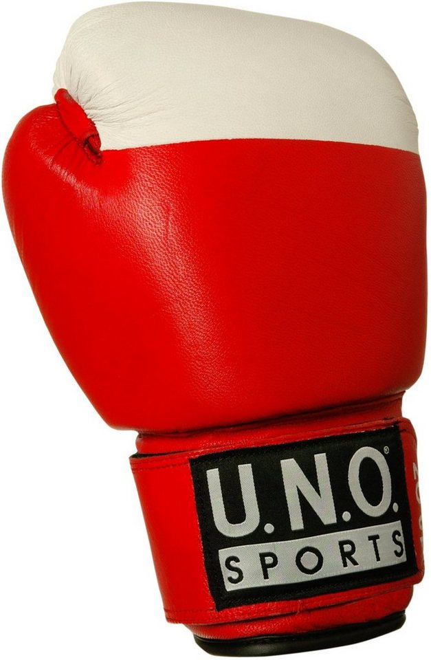 U.N.O.-Sports® Boxhandschuh, »Competiton« (1 Paar) in rot