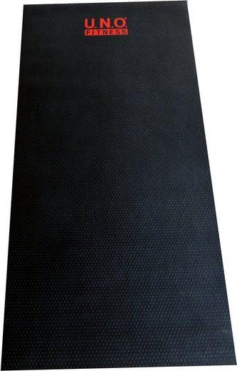 U.N.O. FITNESS Bodenschutzmatte, für Fitnessgeräte