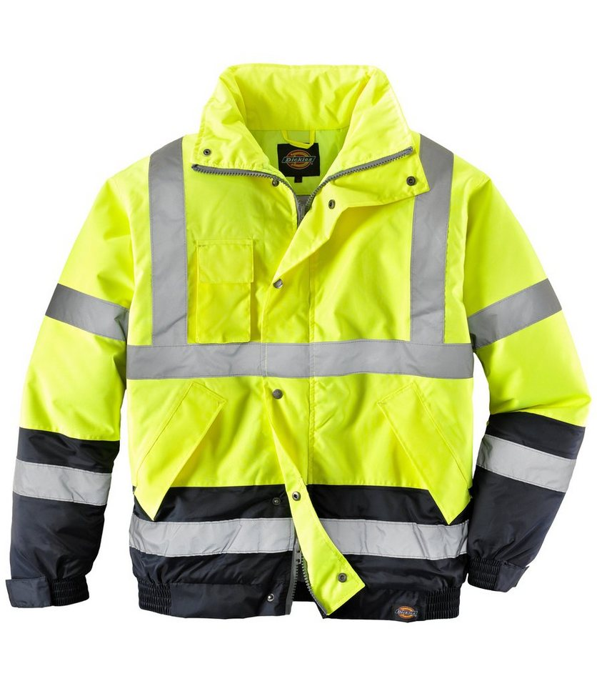 High Vis Pilotenjacke in gelb