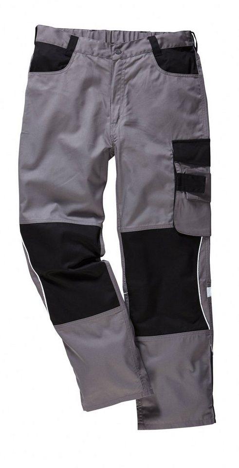 Spar-Set: Arbeitshose »Extreme« (2 Stck.) in grau/schwarz
