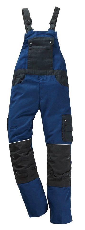 Latzhose »Professional Line« in blau/schwarz