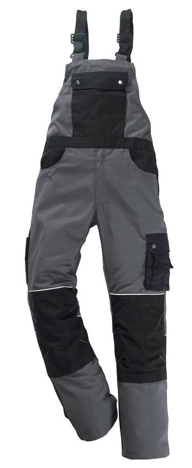 Reindl Latzhose »Professional Line« | Bekleidung > Hosen > Latzhosen | Grau | Polyester - Baumwolle | REINDL