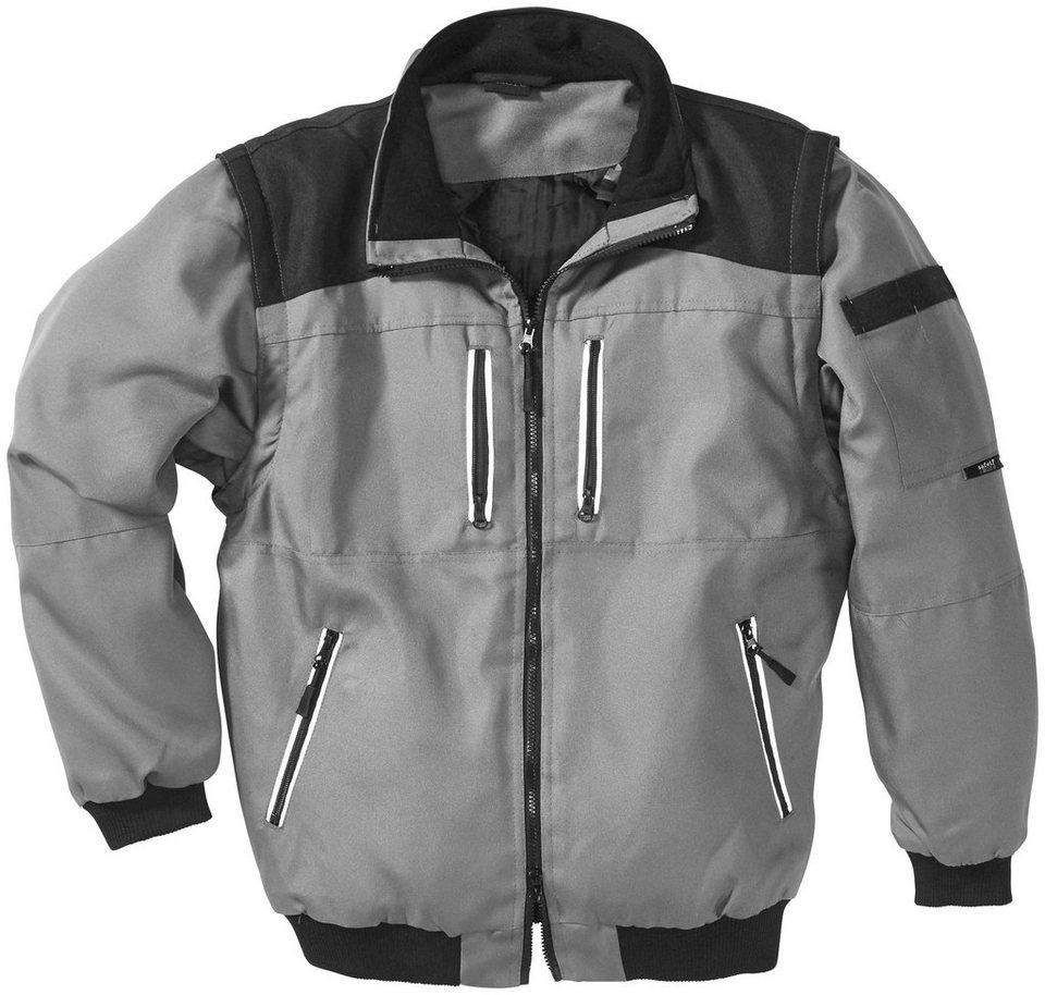 Arbeitsjacke in grau/schwarz
