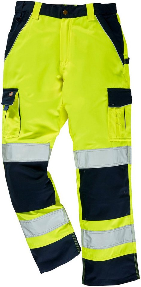 Arbeitshose »Industry High Vis« in gelb/blau