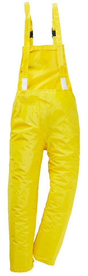 Regenlatzhose in gelb
