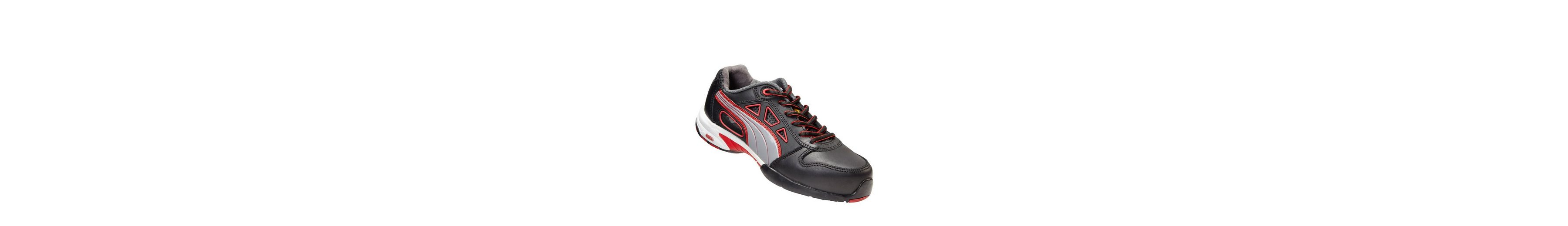 PUMA Damen Sicherheitssandale Stream Red WNS Low S1 HRO SRC
