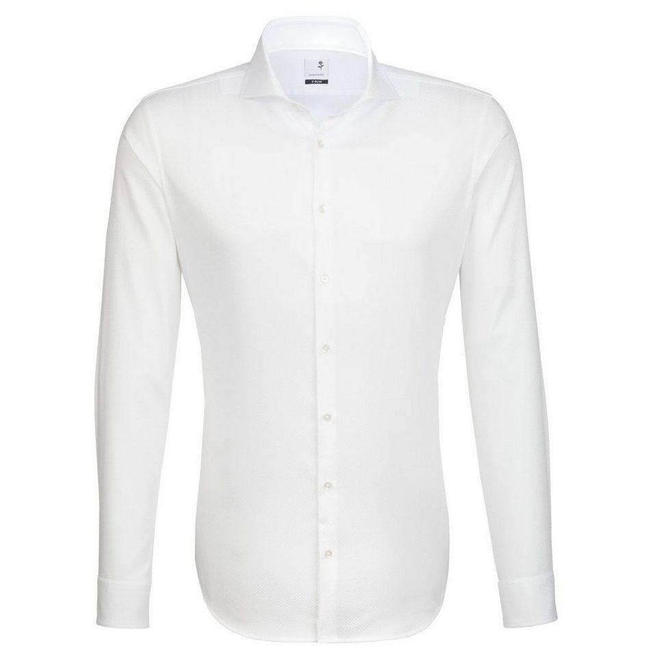Seidensticker Businesshemd »x-slim« in weiß