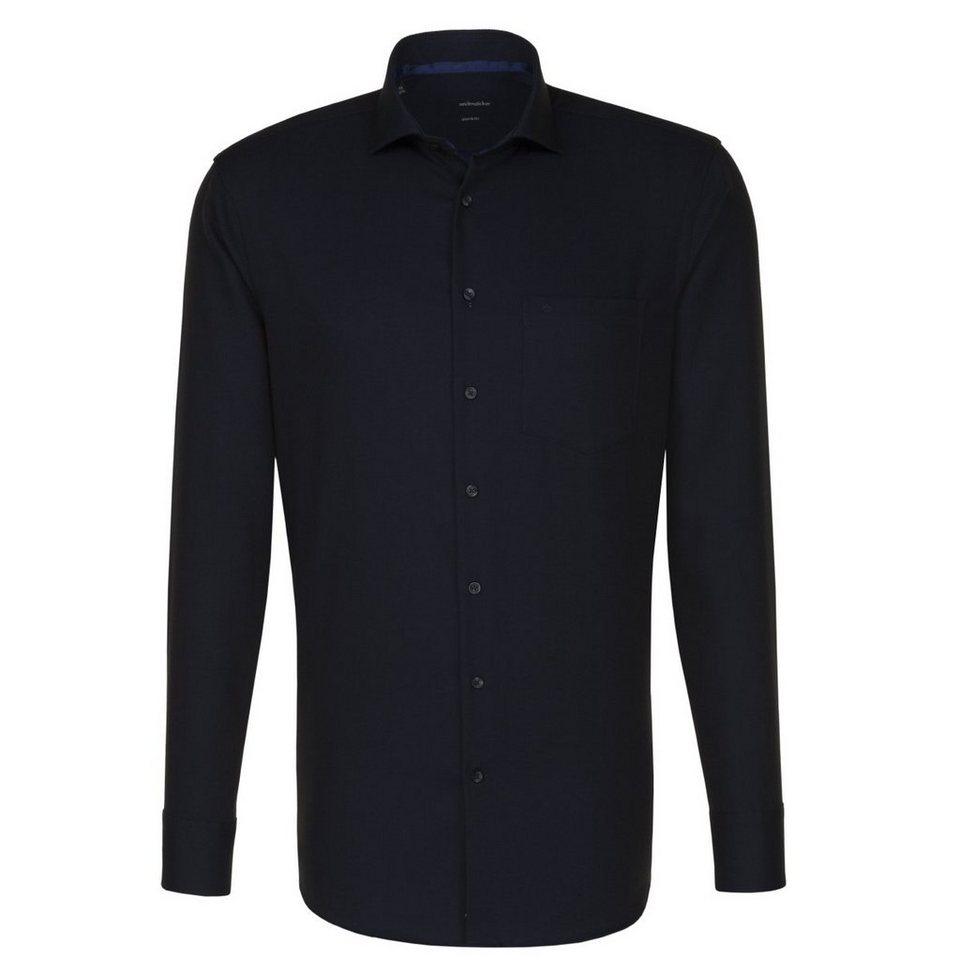 SEIDENSTICKER Businesshemd »Modern« in schwarz