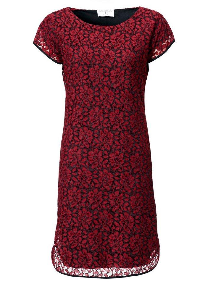 ASHLEY BROOKE by Heine Spitzenkleid mit Jersey-Unterkleid