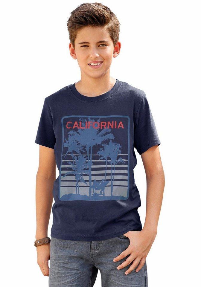 """Arizona T-Shirt """"CALIFORNIA"""" in marine"""