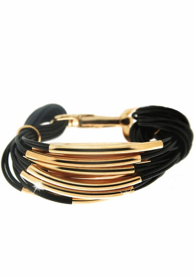 Sweet Deluxe Armband »Ella, 4042« in goldfarben-schwarz