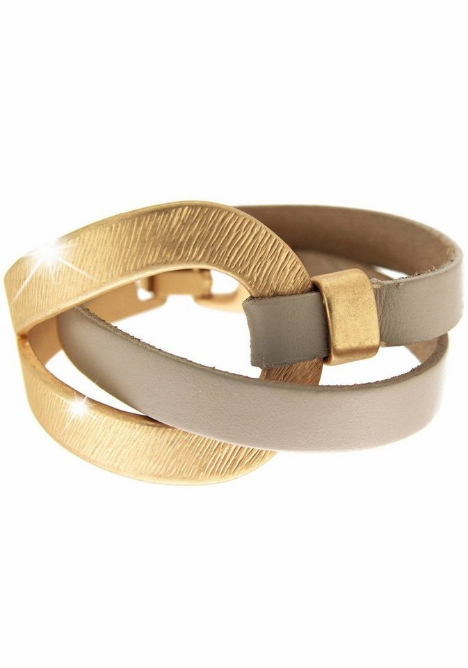 Sweet Deluxe Armband »Selina, 4726« in goldfarben-taupe