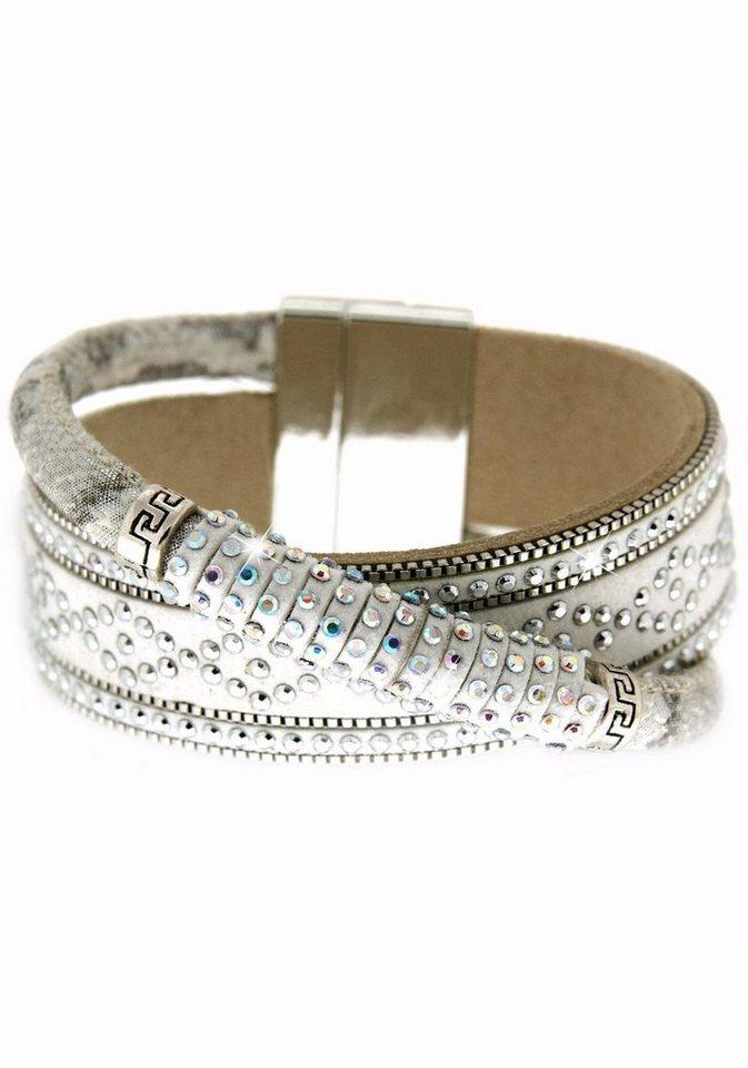Sweet Deluxe Armband »Marisol, 5543« mit Strasssteinen in silberfarben