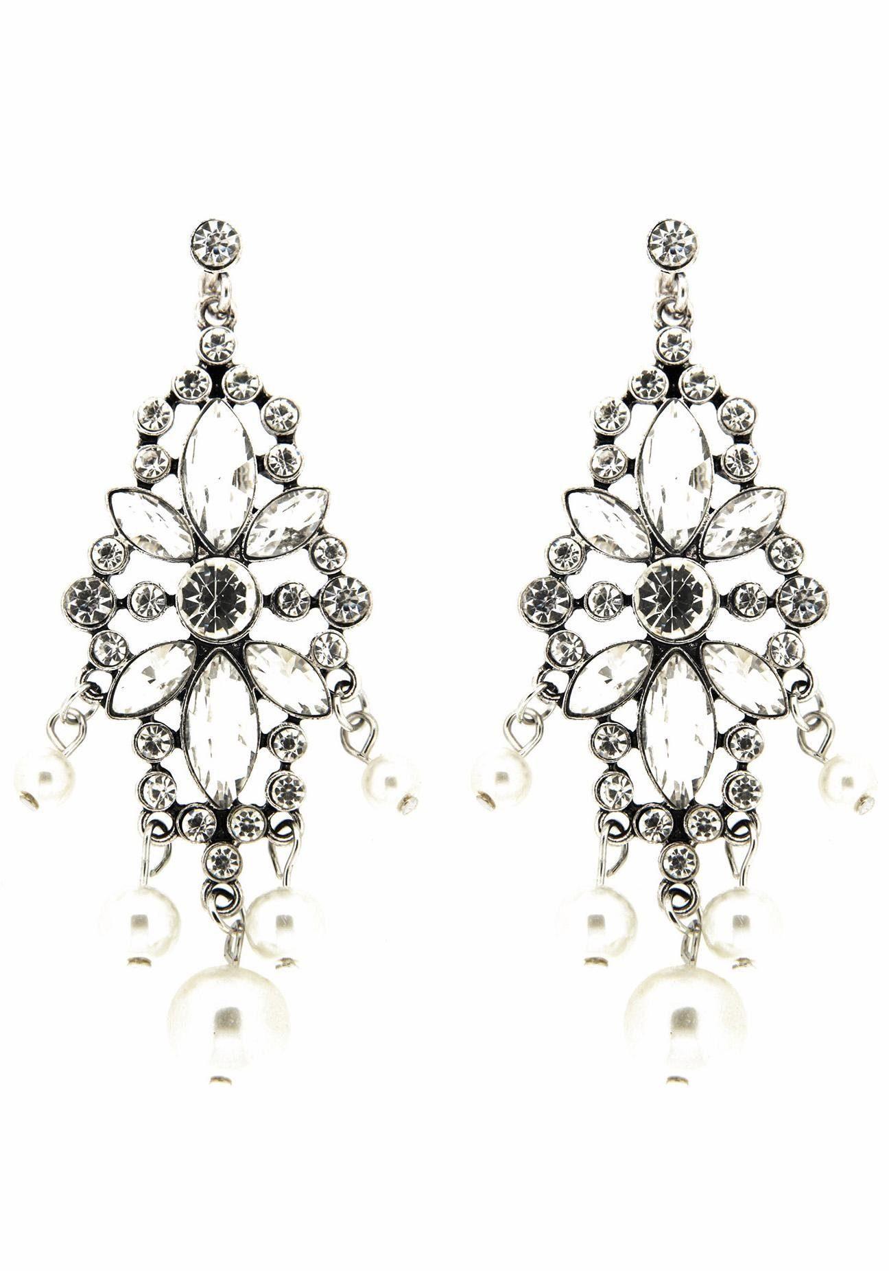 Sweet Deluxe Paar Ohrhänger »Bibiana, 6018«, mit Glassteinen