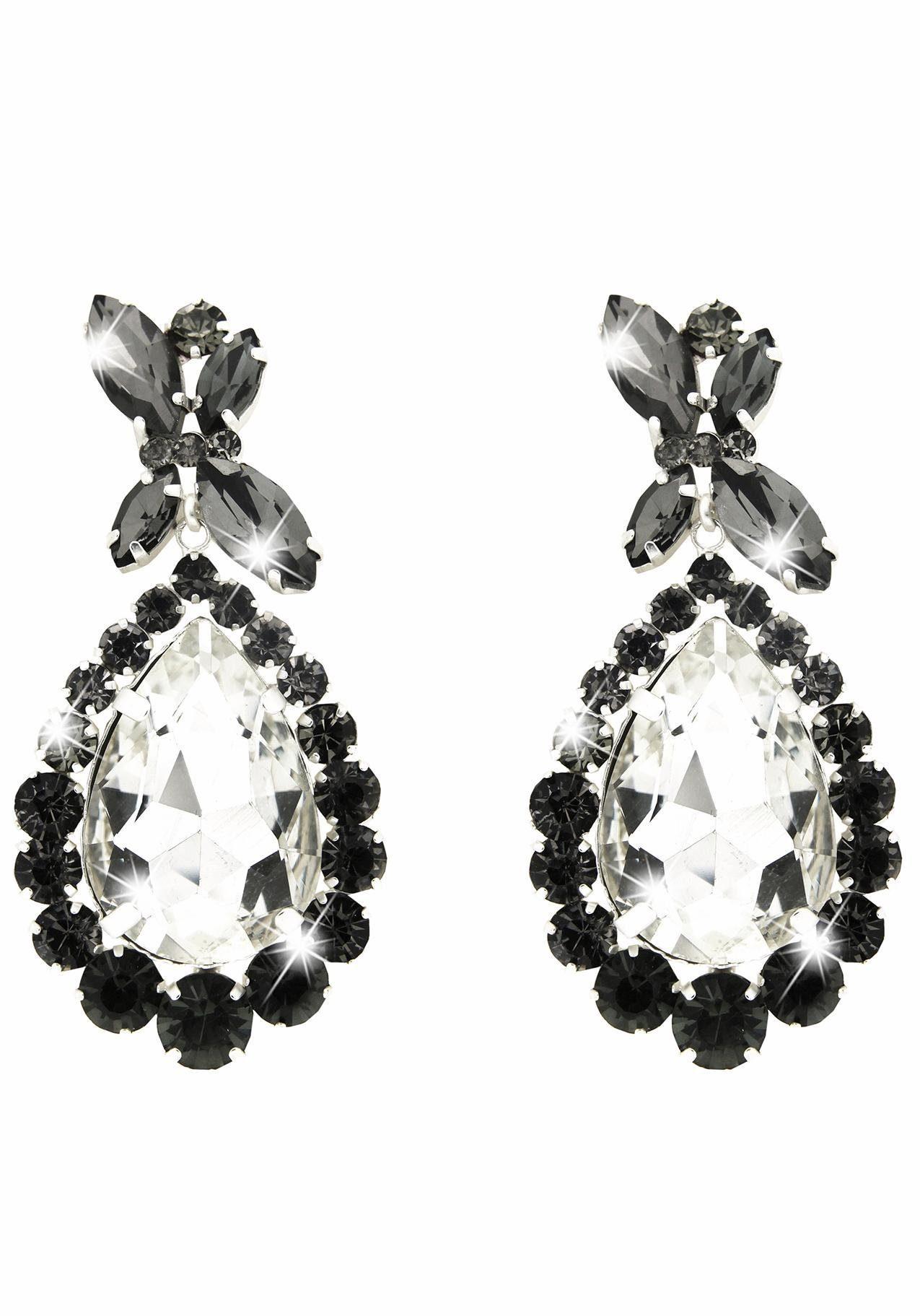 Sweet Deluxe Paar Ohrhänger »Princess Style, 5137« mit Glassteinen