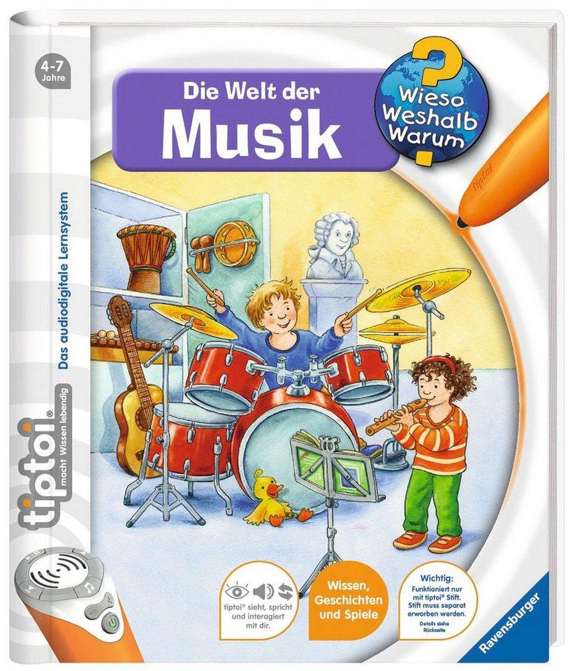 Ravensburger Buch, tiptoi®, WWW – »Welt der Musik«