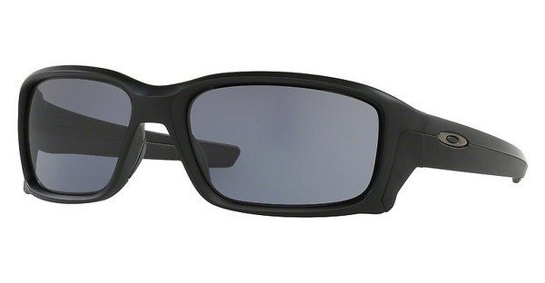 Oakley Herren Sonnenbrille »Straightlink OO9331« in 933102 - schwarz/blau