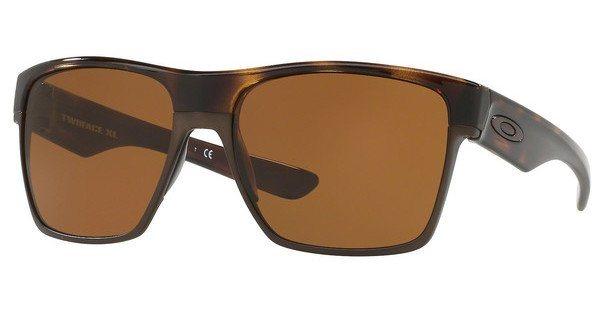 Oakley Herren Sonnenbrille »Twoface Xl OO9350« in 935006 - braun/braun