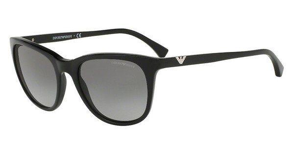 Emporio Armani Damen Sonnenbrille » EA4086«, grau, 56788Z - grau/silber