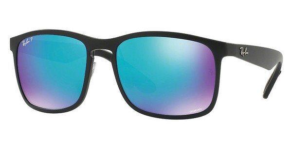 RAY-BAN Herren Sonnenbrille » RB4264« in 601SA1 - schwarz/blau