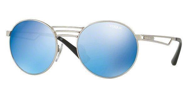 Vogue Damen Sonnenbrille » VO4044S« in 323/55 - silber/blau