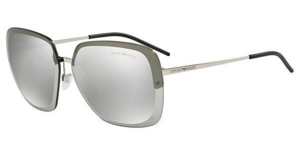 Emporio Armani Damen Sonnenbrille » EA2045« in 30156G - silber/silber