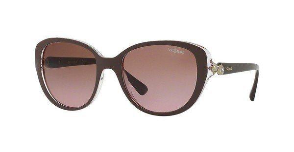 Vogue Damen Sonnenbrille » VO5092SB« in 246514 - lila/rosa