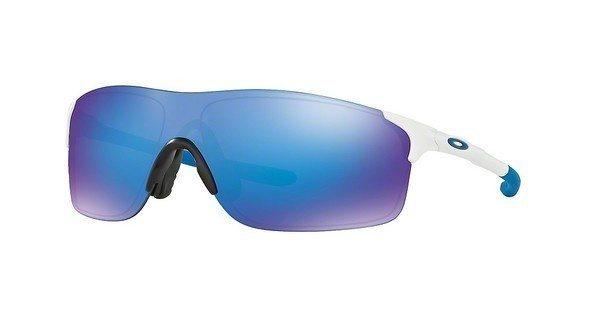 Oakley Herren Sonnenbrille »Evzero Pitch OO9383« in 938302 - weiß/blau