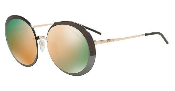 Emporio Armani Damen Sonnenbrille » EA2044« in 31674Z - braun/ gold
