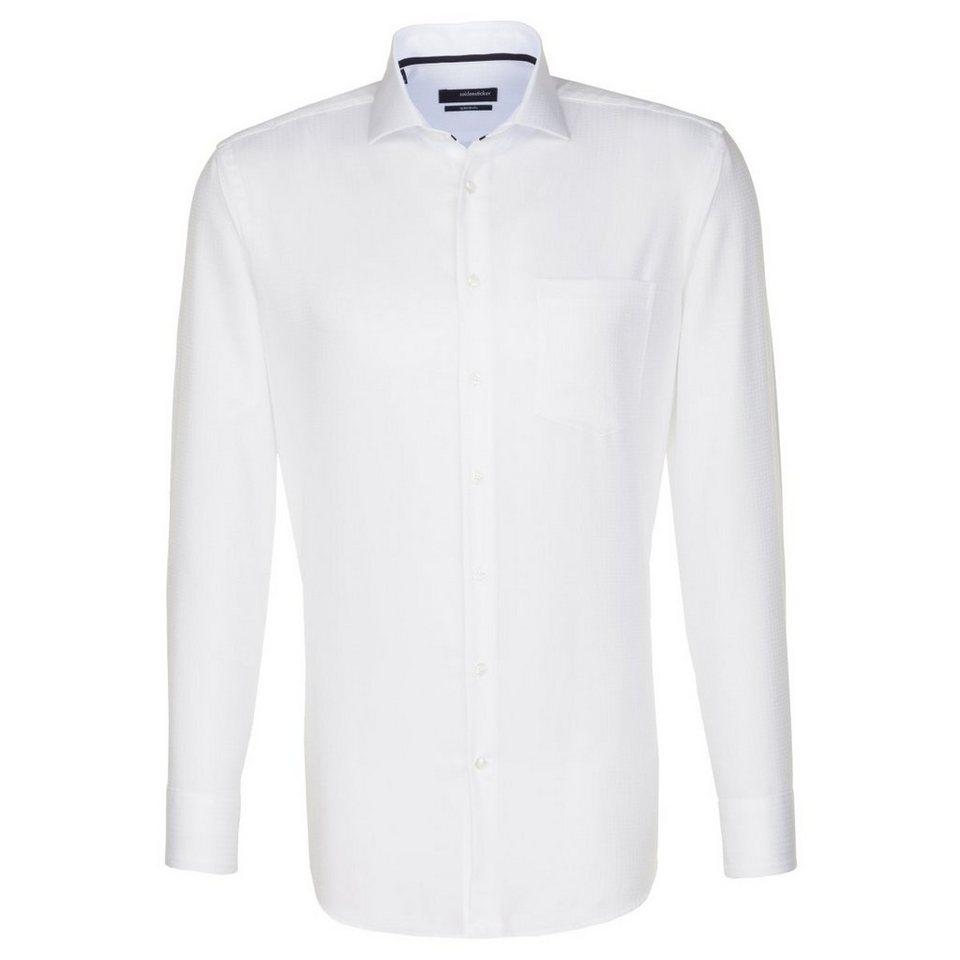 SEIDENSTICKER Businesshemd »Modern« in weiß