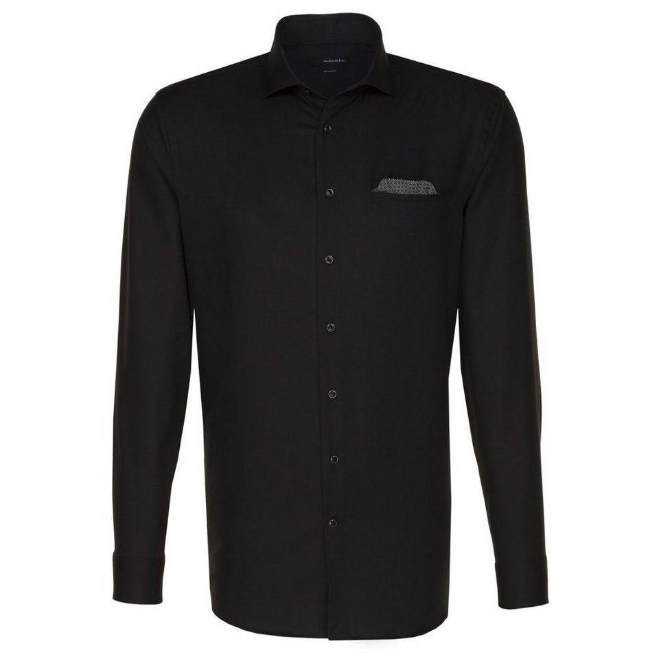 SEIDENSTICKER Businesshemd »Splendesto« in schwarz