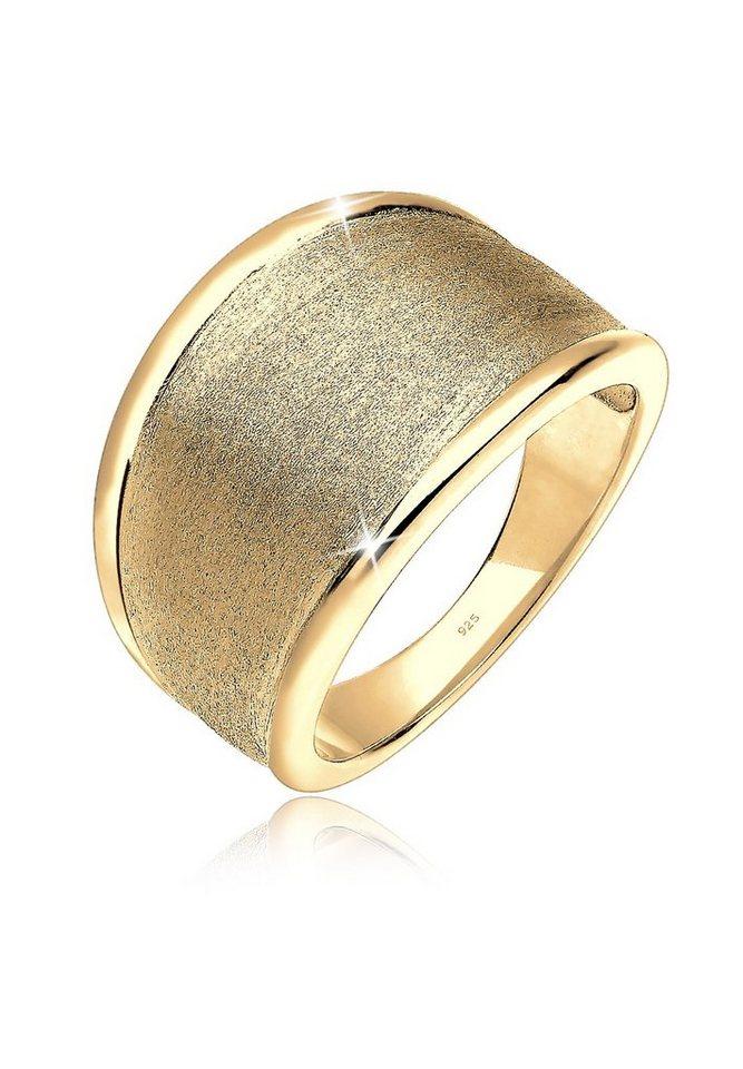 Elli Ring »Statement Basic 925 Silber vergoldet« in Gold