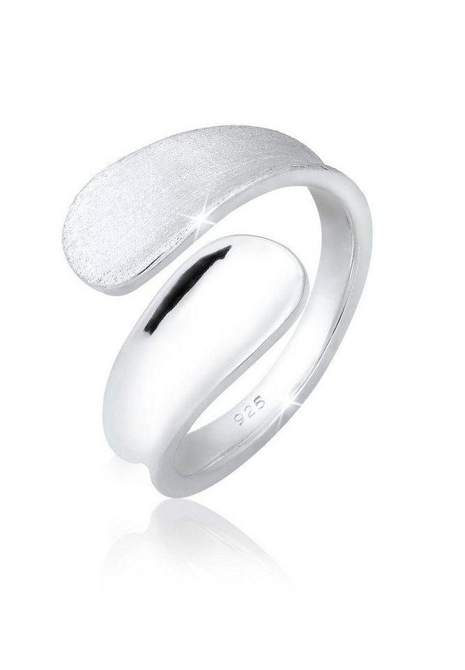 Elli Ring »Basic Open-Ring 925 Silber« in Silber