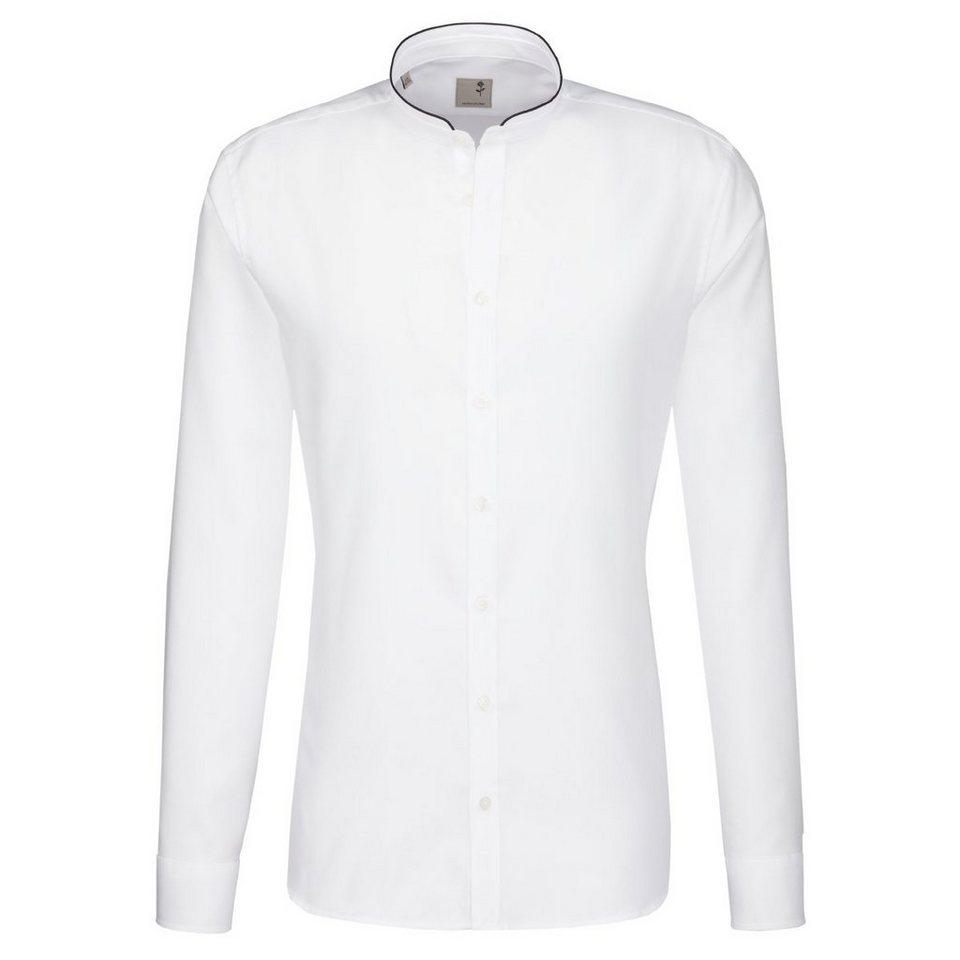 Seidensticker Businesshemd »Schwarze Rose« in weiß