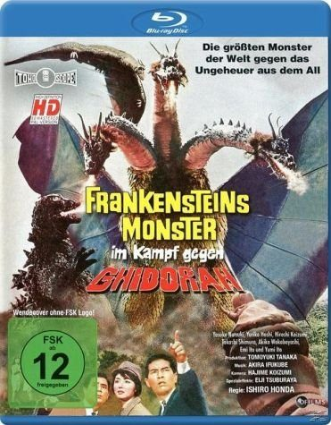 Blu-ray »Frankensteins Monster im Kampf gegen Ghidorah«