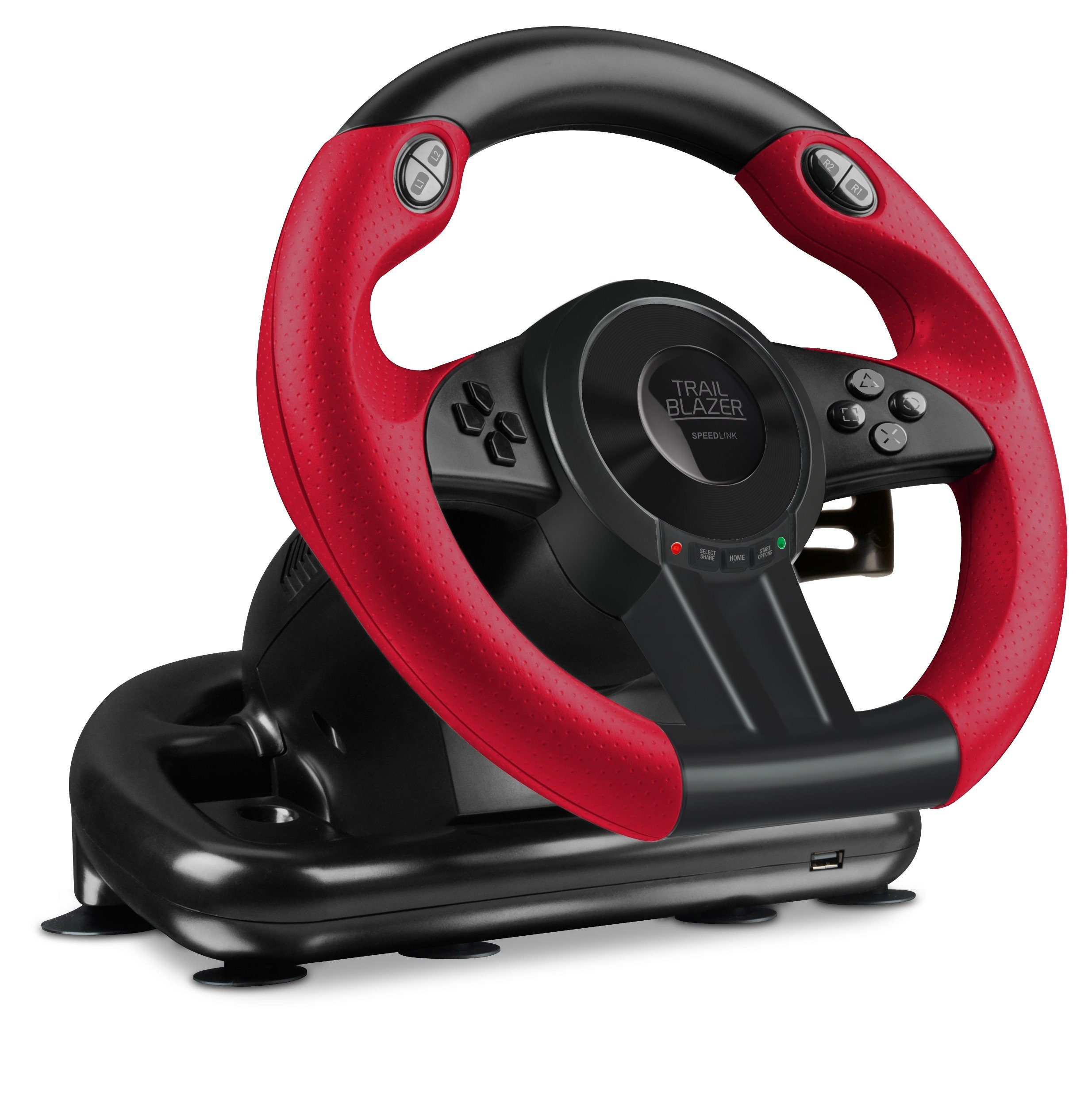 SPEEDLINK Lenkrad »TRAILBLAZER Racing Wheel für PS4/Xbox One/PS3/PC«